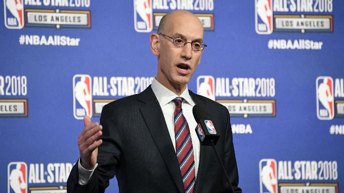 NBA commissioner Adam Sliver
