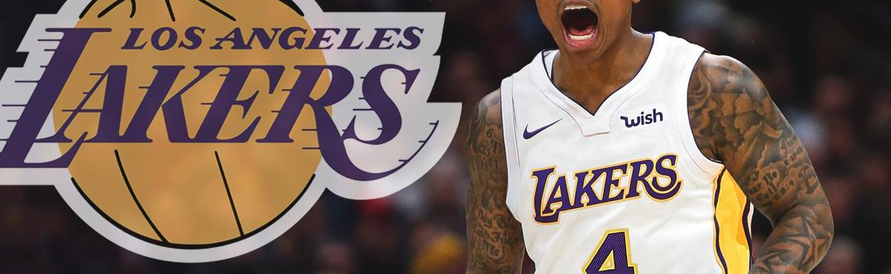 Isaiah Thomas in a Los Angeles Lakers uniform