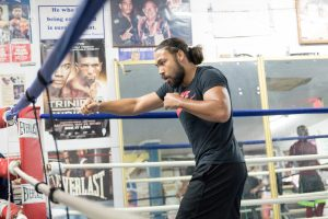 Keith Thurman In A Boxing Ring