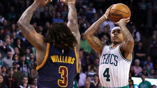 Isaiah Thomas vs the Cleveland Cavaliers