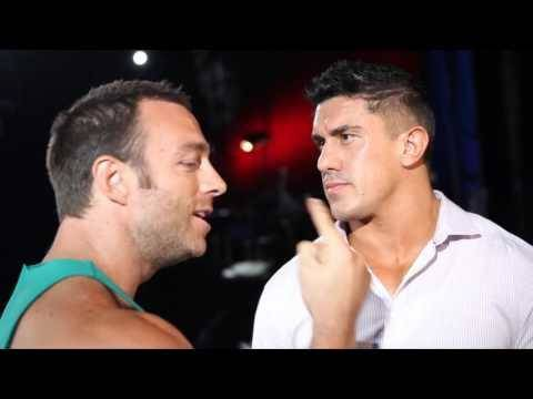 EC3 And Eli Drake during a backstage segment on Impact Wrestling television